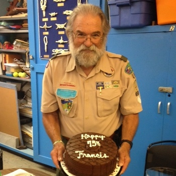 Happy Birthday, Scoutmaster Francis!